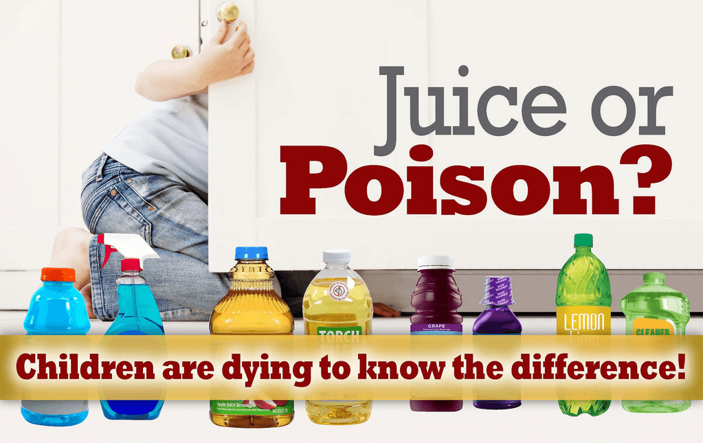 Household Cleaning Products Poisoning