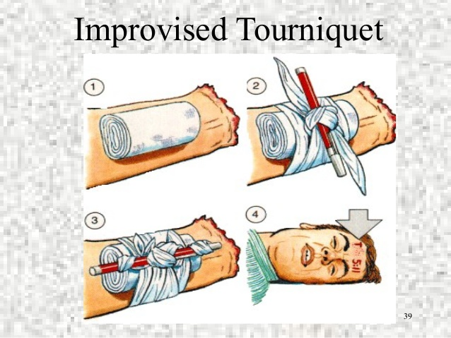 Improvised Tourniquets